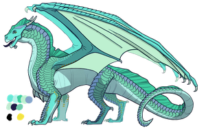 Seawing/Sandwing (adopted by FearlessMist by Corinny-cat