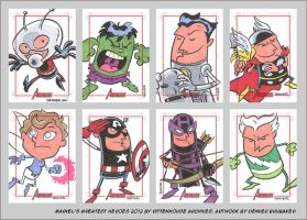MGH2012 sketchcards 01 by thecheckeredman