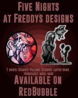 FNAF Designs available on RedBubble by WolfLinkByDarkEco