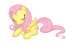 Fluttershy by Tenchi-Outsuno