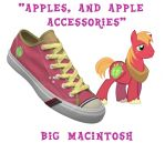 Big Macintosh shoes by DoctorRedBird