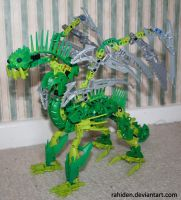 Bionicle MOC: Air Dragon by Rahiden