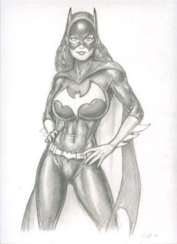 Batgirl - strong is sexy by ralphieboy