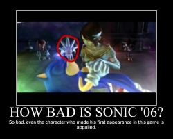 Sonic '06 Demotivational by Coolcat1701