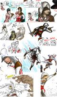 Assassins Creed dump by SavedChicken