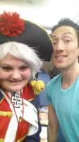 Me with Todd Haberkorn by hetaliahandhearts