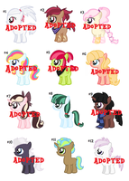 CLOSED - 15 pts. Filly and Colt adopts. by rem-ains