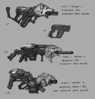 Arcanium Weapon Concepts 01 by psypher101