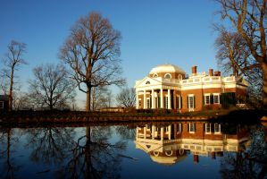 Monticello Mansion by csetzer