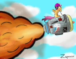 Rocket Scoot by zaponator