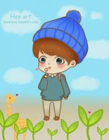 Baek Hyun by LuluChopper