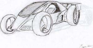 Concept Racer by Lazarus-Firenze