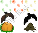 Origin Woods- Halloween Items by Alcemistnv