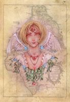 Angel of the Old World by clarence-mcgraw