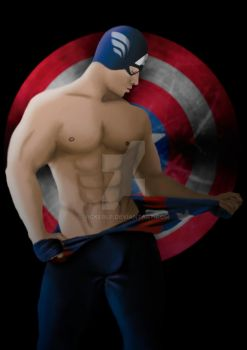 Captain America by VickerLP