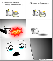 Cubee - 63 - Birthday 20 by ReFreezed