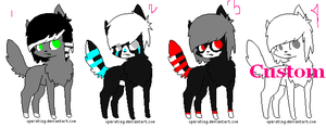 Adoptables -CLOSED- by Buckets-adopts