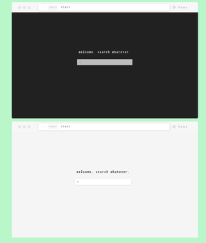 Minimal Search  01 by turnthelighstoff