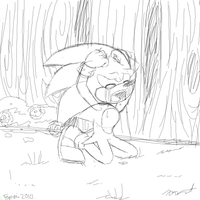 Crying..? by Fommi