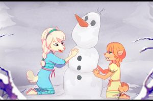 do you want to build a snowman? by leafaye