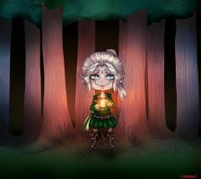 Within The Forest - Chibi Commission by LALASOSU2