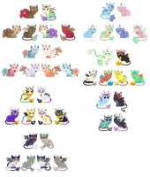 Breeding Batch With Vortex-larva(*4 Left*) by xavs-pixels