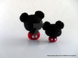 Miniature Mickey Mouse by AnyaZoe