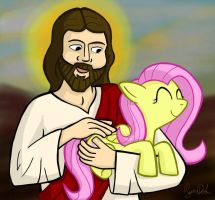 Brony Jesus by petirep