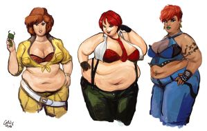 Red Haired BBW by TheAmericanDream
