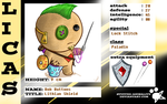 Bob Buttons - Character Card by Retro-Death