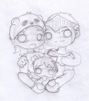 RO Family - Sketch by Meichu