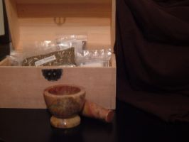 mortar and pestle 2 by immortalis-stock