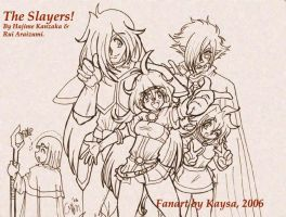 The Slayers by Kaysa