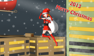2013 Merry Christmas by redcomic