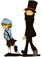 Fanart [The Professor and His Assistant] by Vanes-VIP