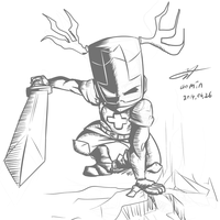 [40 min]Castle Crashers - Blacksmith by kyodashiro