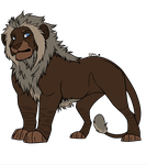 Male Lion Adoptable [CLOSED] by horse-power