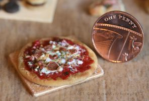 1/12th scale pizza by ElreniaGreenleaf