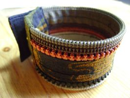 Bracelet en zip safari by Emillye