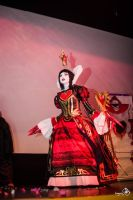 Queen of hearts from Alice Madness Returns Cosplay by HaruhichanxD