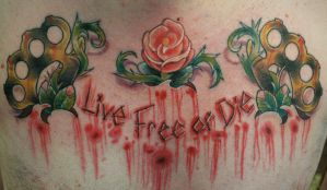Live Free or Die by jesserix