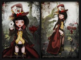 Mad Hatter Lady by MyobiMarishka