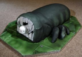 Aliens cake by sparks1992