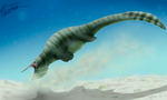 Hupehsuchus, the pelican by Carlosdino