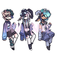 (CLOSED) Floraums | Batch 2 by star-stickers