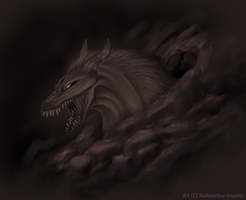 It Lives In A Cave by Radioactive-Insanity