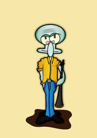 Squidward-01 by soharrrr