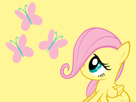 Fluttershy Wallparer by Fluttershy78