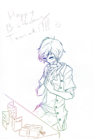 Happy Birthday Tamaki by FlameoZutara