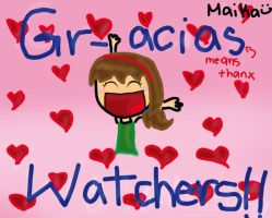 GRACIAS WATCHERS by MaikaKoalaDraws